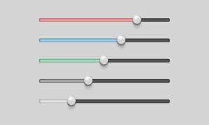 HTML5仿Chrome样式滑杆控制器动画