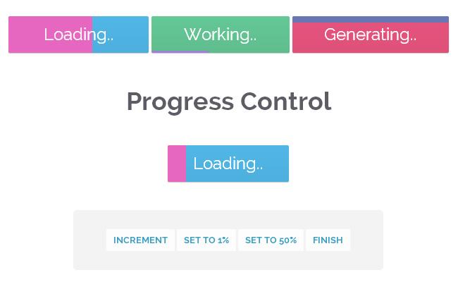 jQuery+CSS3内置进度条按钮