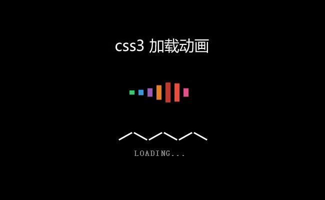 CSS3实现Loading动画加载进度条