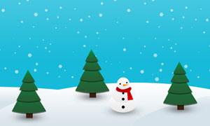 CSS3实现冬天雪花飘落动画特效