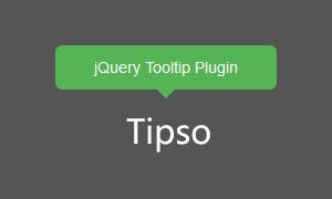 jquery提示框插件Tipso.js