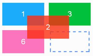 jquery鼠标拖拽排序布局插件