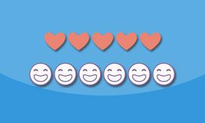 unicode表情字符jquery星级评分插件