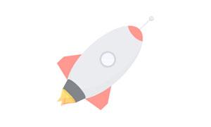 纯css3制作飞舞的火箭动画特效