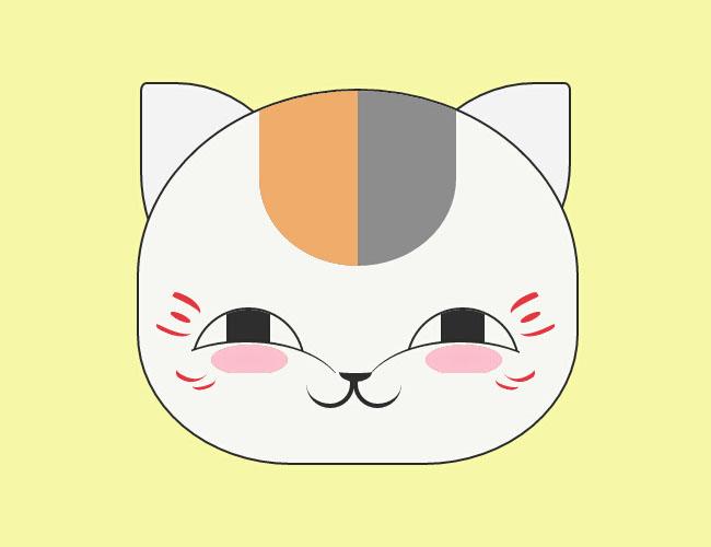 纯css3绘制鼠标控制猫咪笑脸动画特效