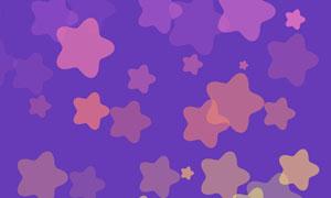 css3随机生成五角星背景动画特效