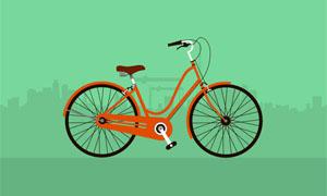 html5 svg自行车行驶动画特效