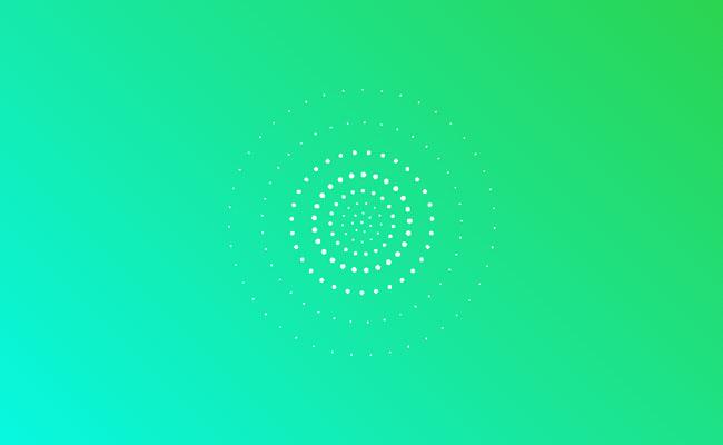 html5制作3d立体粒子动画特效
