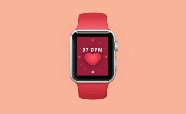css3仿苹果手表iwatch动画特效