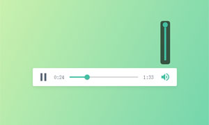 html5 mp3音乐播放器样式下载