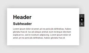jquery文章字体大小调整代码