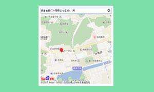 基于百度地图API的获取地址位置代码