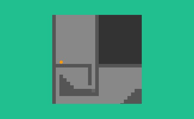 上下左右按钮控制html5迷宫游戏