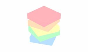 纯css3长方体叠加旋转加载动画特效
