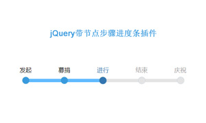 jquery响应式流程步骤进度条代码