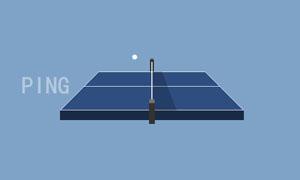 纯css3模拟打乒乓球动画特效