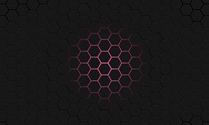 html5 canvas六边形蜂巢动画特效