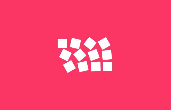 纯css3方块翻转loading加载特效