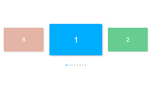 jquery卡片式横向切换图片代码