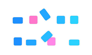 纯css3加载方块跳动动画特效