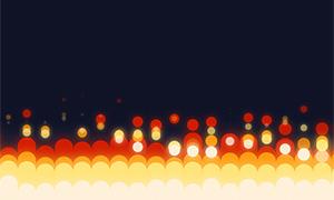 jquery基于css3泡泡上升动画特效