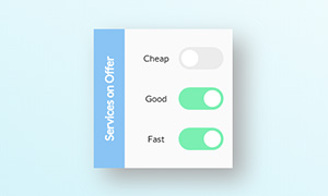 css3苹果ios风格开关按钮特效