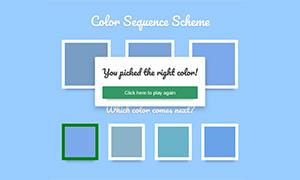 js+css3点击猜颜色游戏代码
