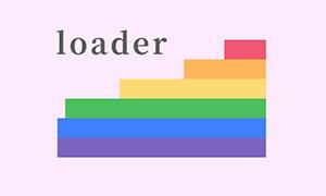 纯css3阶梯式loading加载动画特效