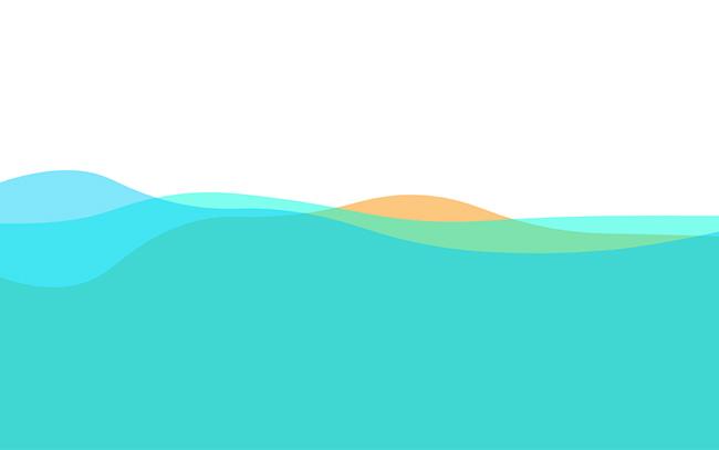 鼠标控制波浪翻滚canvas特效