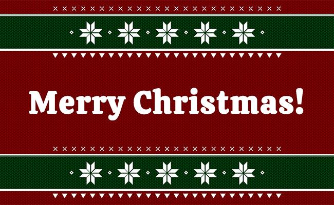 css3圣诞节喜庆文字祝福代码