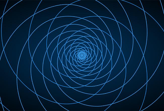 css3线条黑洞背景动画特效